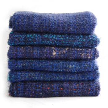 Blue/Wool-Cotton