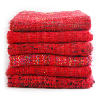 Red/Wool-Cotton